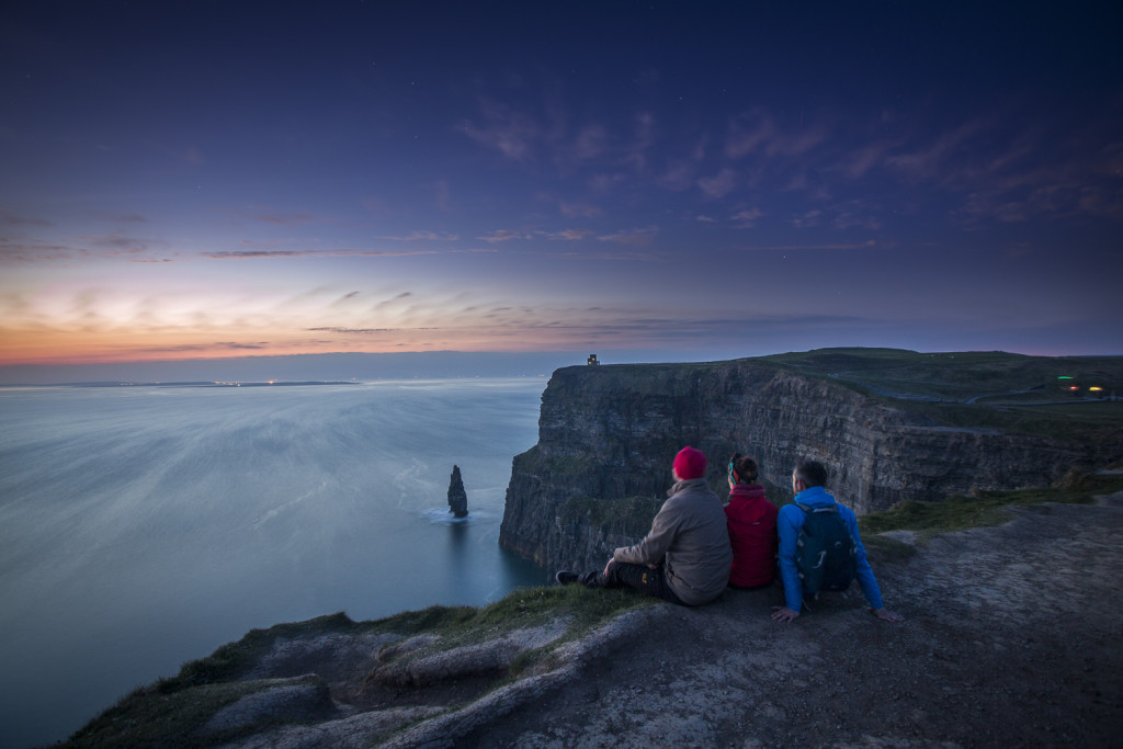 Cliffs of Moher bei Nacht © PhotoTravelNomads.com
