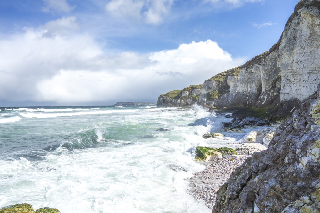 Irland Reiseblog: White Rocks ©PhotoTravelNomads.com