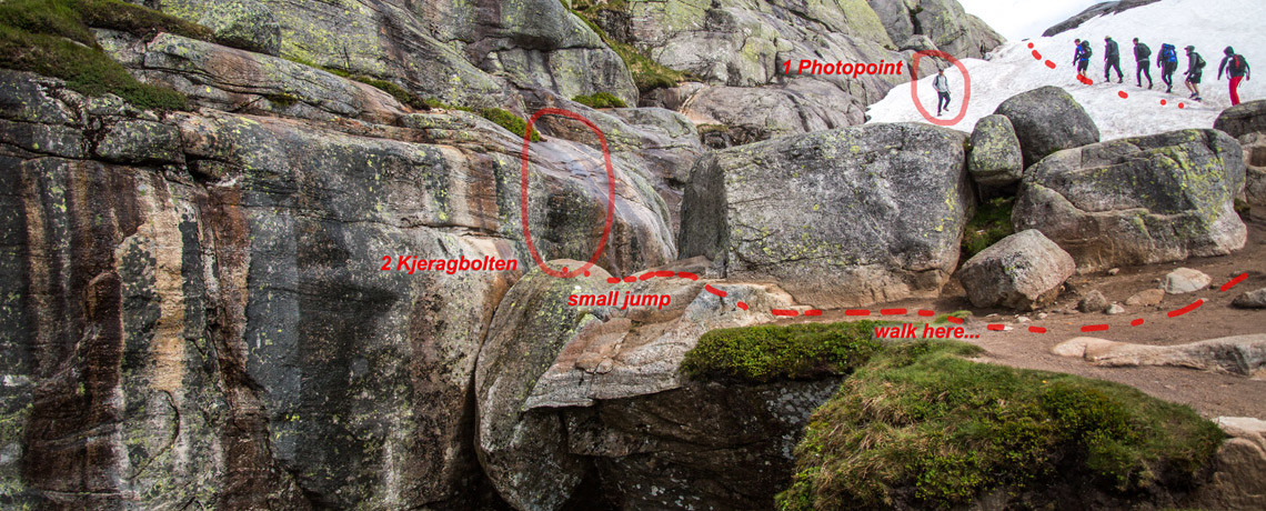 How to get to Kjeragbolten - Backside - Insidertipps - Norwegen - Europa - PhotoTravelNomads.com