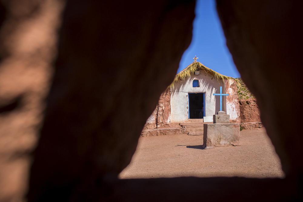 Machuca Church in San Pedro de Atacama - Chile © PhotoTravelNomads.com