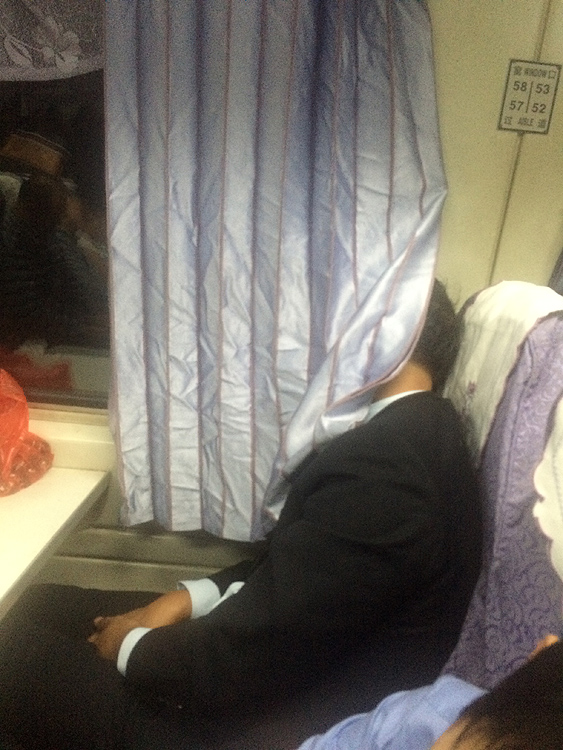 How to sleep in a train