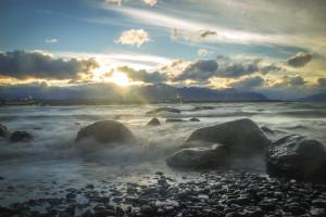 Bucht in Puerto Natales