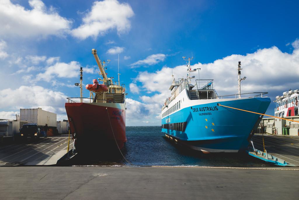 Hafen von Punta Arenas