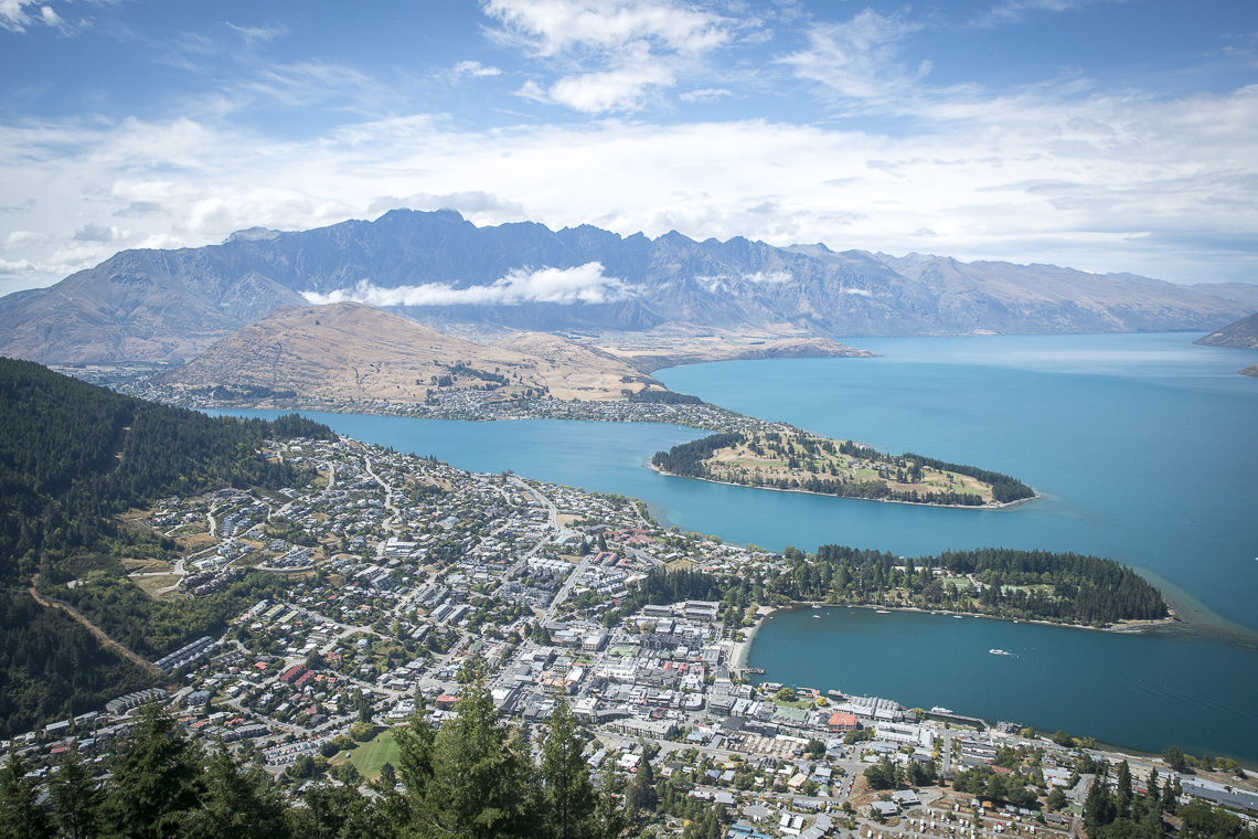 Sollte auf keiner Neuseeland Reiseroute fehlen: Queenstown - die Stadt des Adrenalins auf der Neuseeland Südinsel