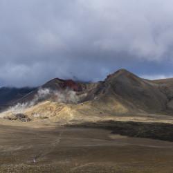 Red Crater Tongariro Alpine Crossing © PhotoTravelNomads.com