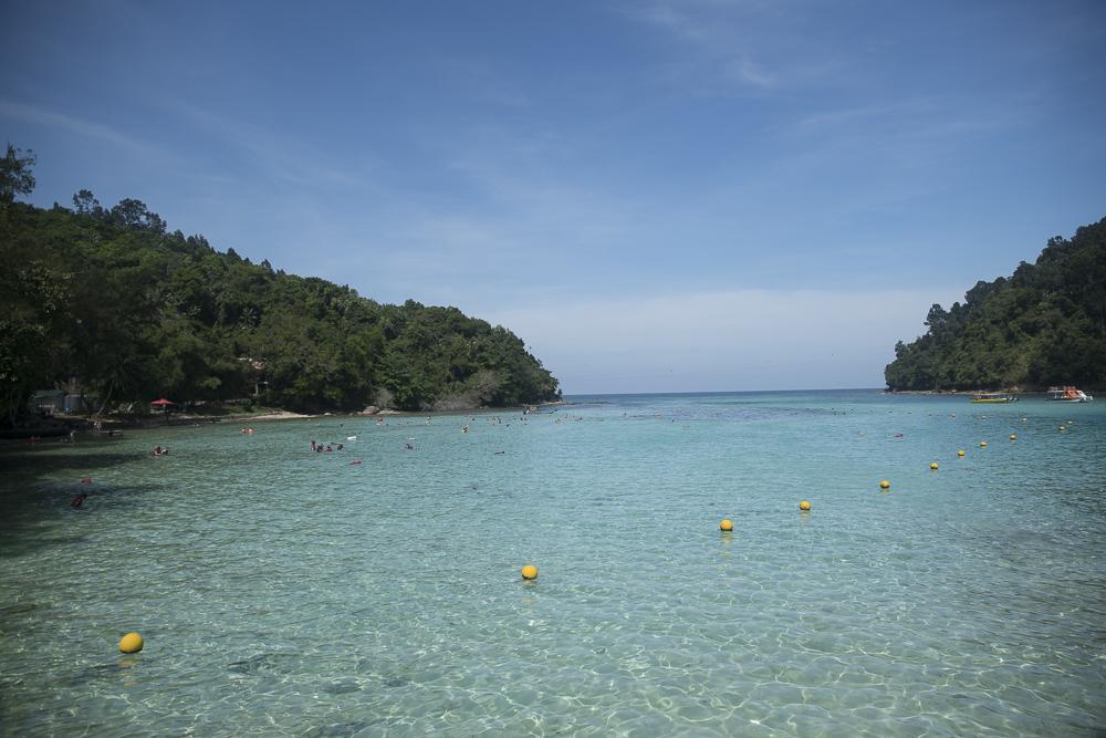 Sapi Island bei Kota Kinabalu