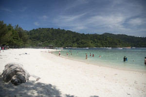Sapi Island bei Kota Kinabalu (Borneo) © PhotoTravelNomads.com