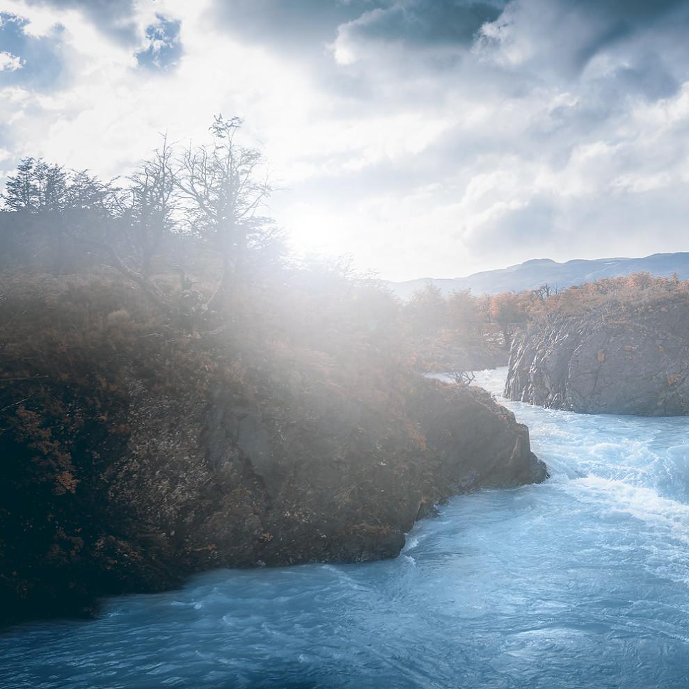 Serrano River im Torres del Paine Nationalpark - Chile - Südamerika © PhotoTravelNomads.com