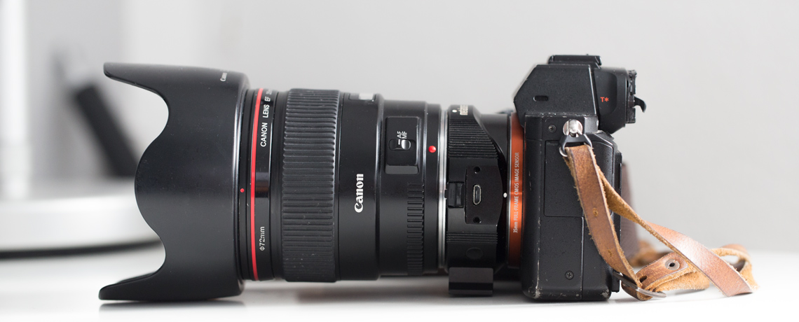 Sony-A7RM2 (ILCE-7RM2) Metabones Adapter Canon Bug © PhotoTravelNomads.com