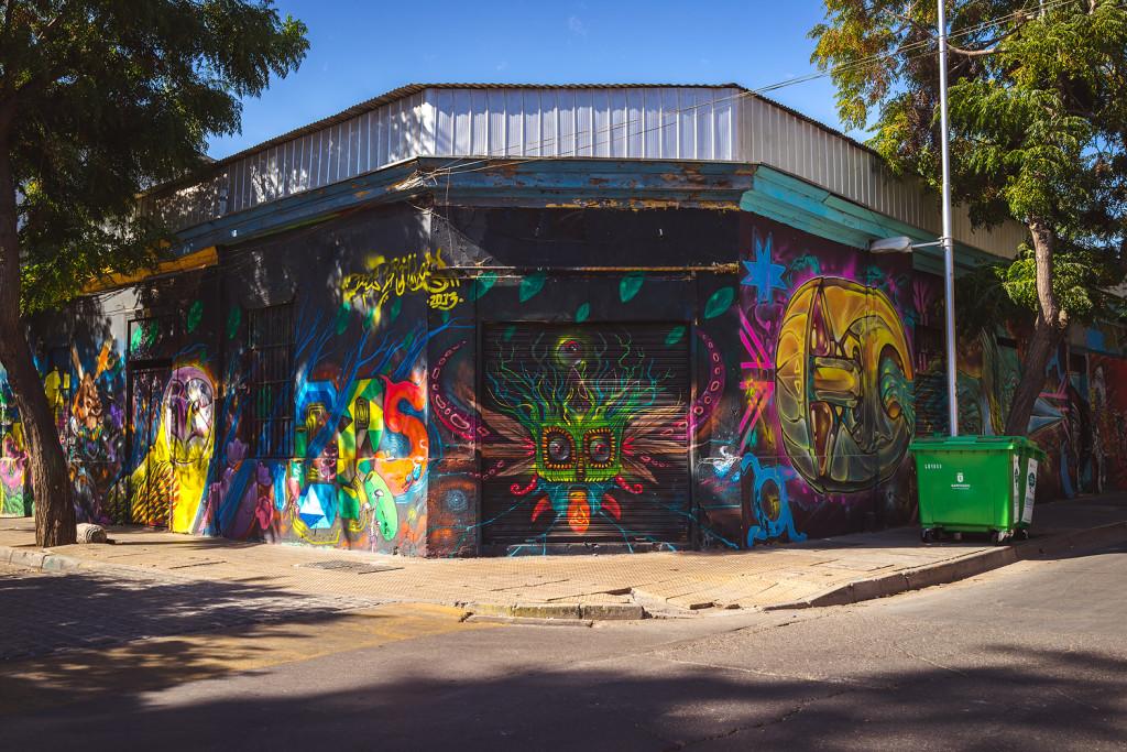 Streetart in Santiago de Chile