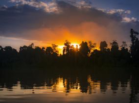 Kinabatangan River Cruise - Osman Homestay © PhotoTravelNomads.com
