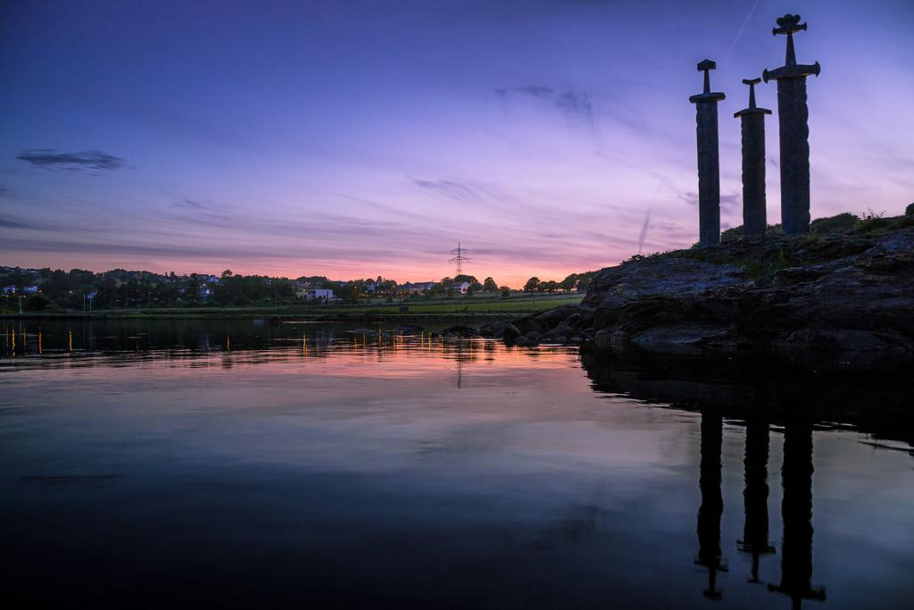 14 Tage Rundreise Norwegen Reiseroute: 1. Tag Svord i Fjell - Stavanger