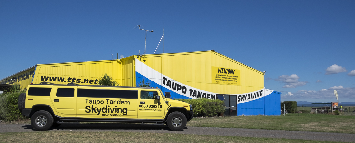 Taupo Tandem SkyDiving Hangar © PhotoTravelNomads.com