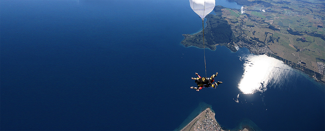 Taupo Tandem SkyDiving © PhotoTravelNomads.com