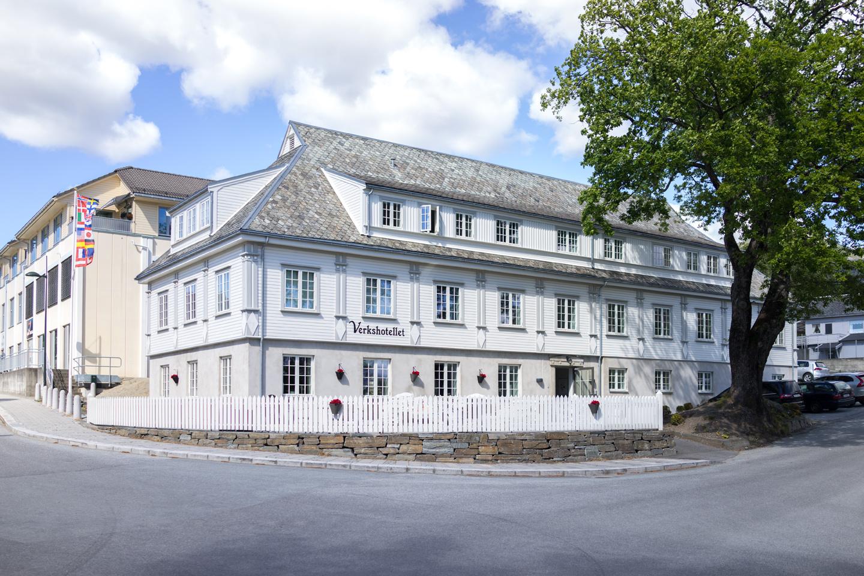 Unsere Unterkunft nahe Preikestolen: Verkshotellet Jørpeland