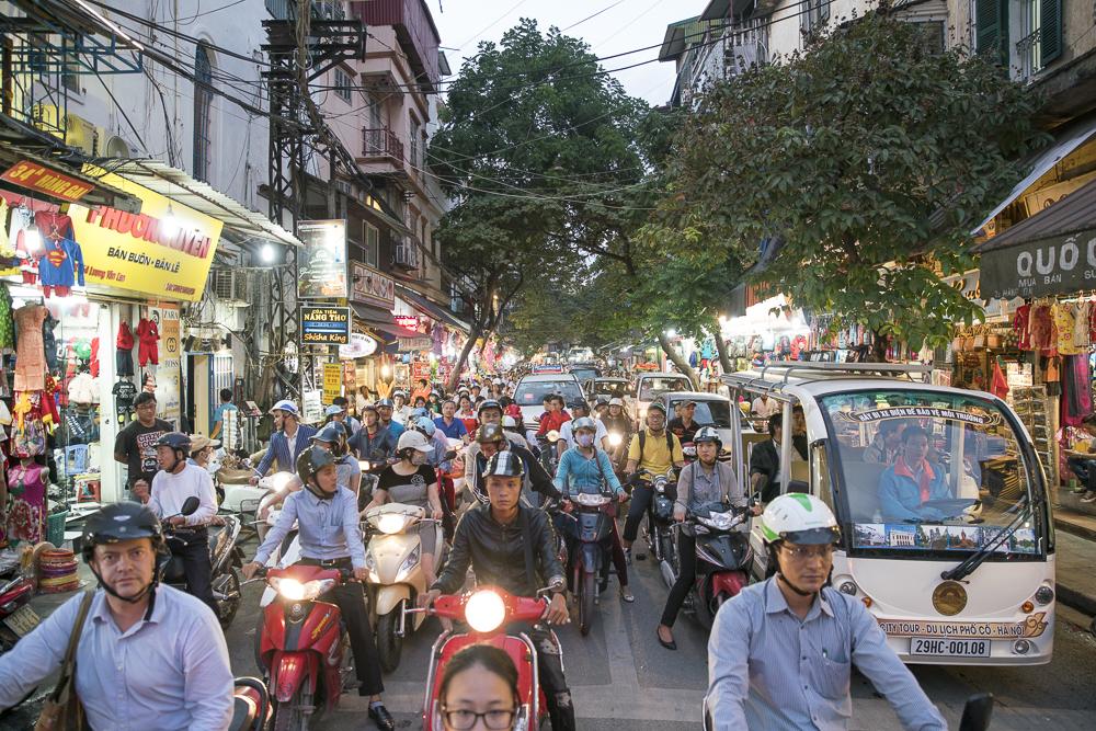 10 Vietnam Reise Tipps: Motorroller fahren in Großstädten ist ein NO GO