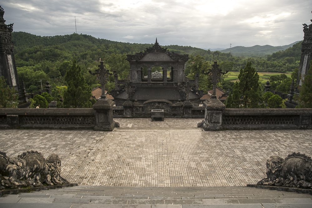 Tomb of Khai Dinh in Hue © PhotoTravelNomads.com