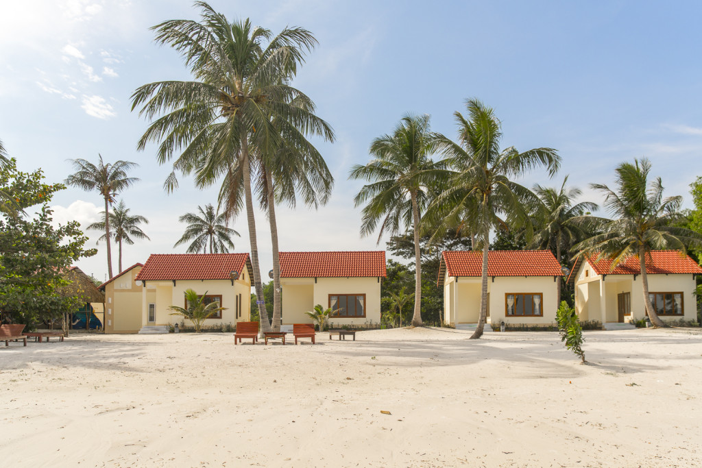 Phu Quoc Hotels und Bungalows am Sao Beach