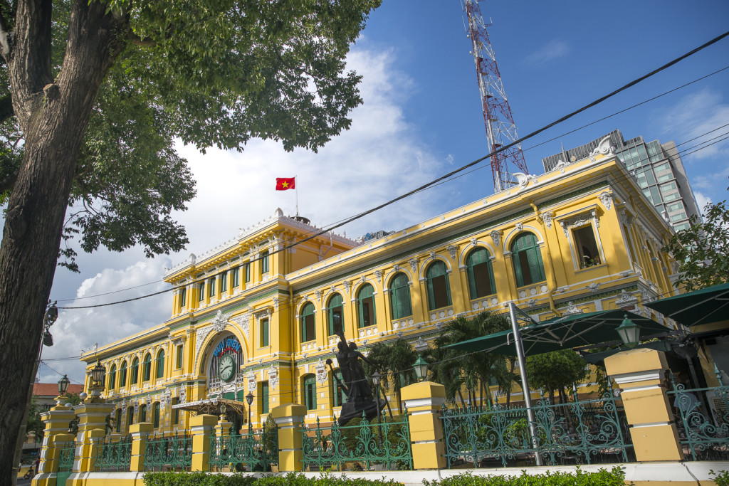 Ho Chi Minh Old Post Office © PhotoTravelNomads.com