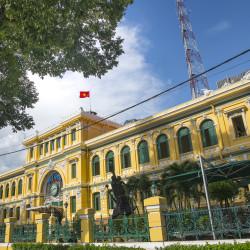 Ho Chi Minh Old Post Office © PhotoTravelNomads.com
