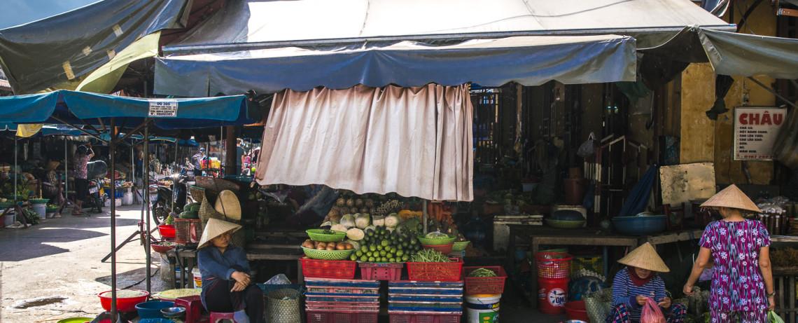 Hoi An Market in Vietnam ©PhotoTravelNomads.com