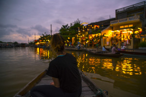 Floßfahrt am Thu Bon River in Hoi An