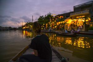 Floßfahrt am Thu Bon River in Hoi An