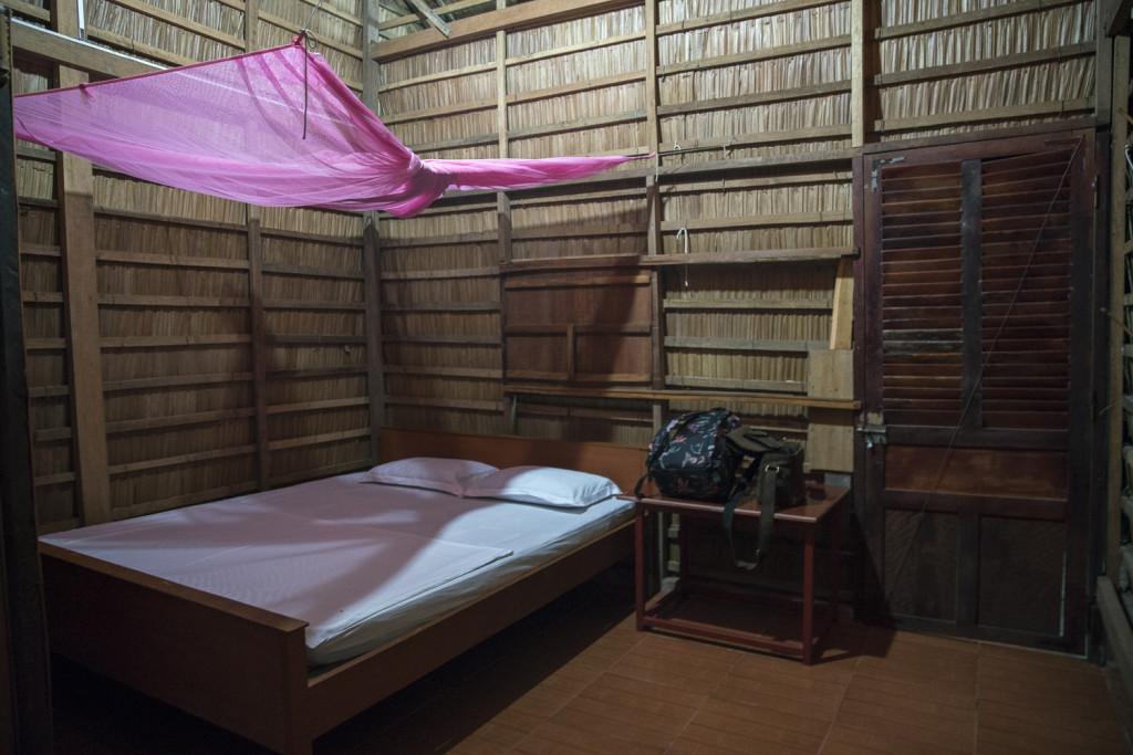 Typische Homestay Unterkunft im Mekong Delta Vietnam