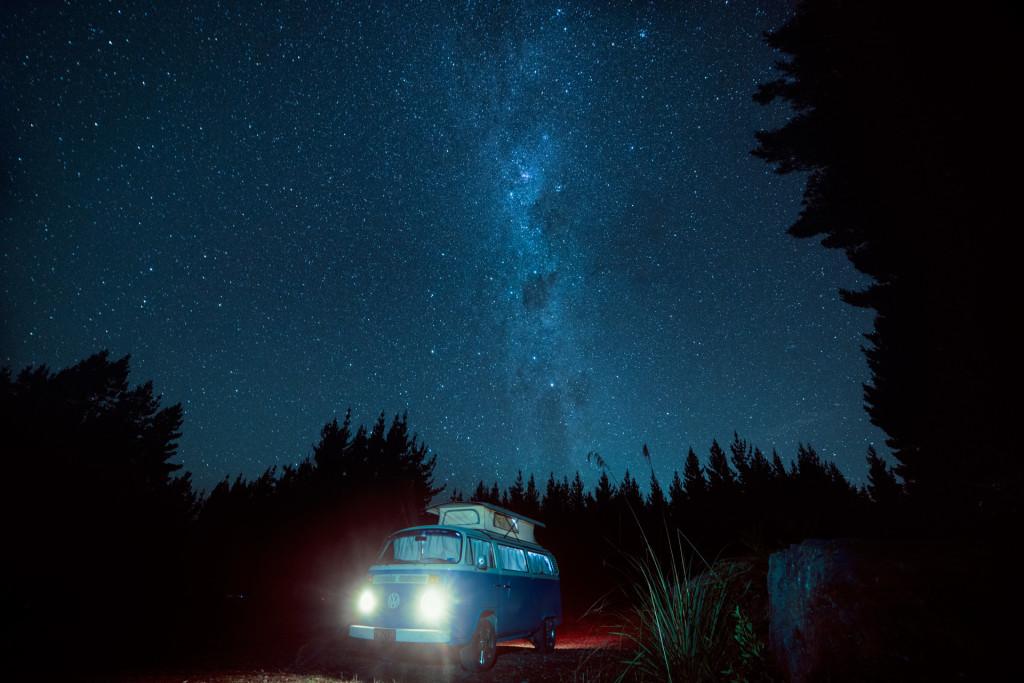 Volkswagen Classic Camper Van New Zealand © PhotoTravelNomads
