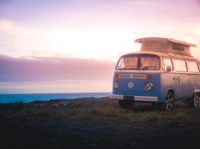 Volkswagen Kombi Camper Van Neuseeland ©PhotoTravelNomads.com