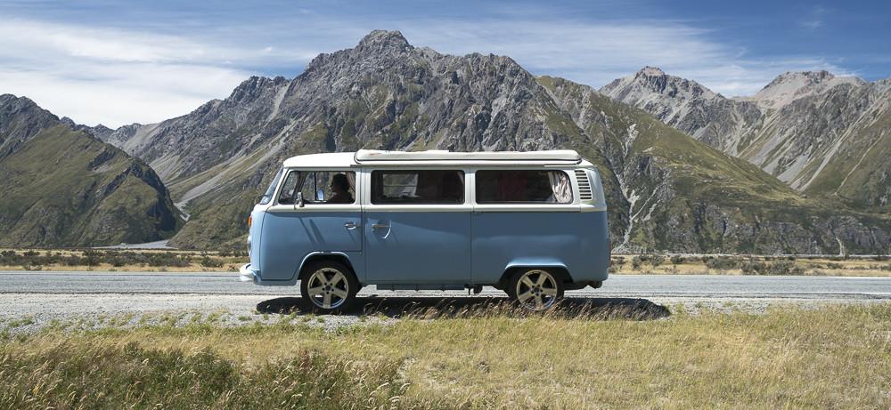 Volkswagen Camping Van Westfalia Kombi 1978 New Zealand © PhotoTravelNomads