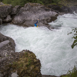 White Water Jumping FlatEarth.no © PhotoTravelNomads.com