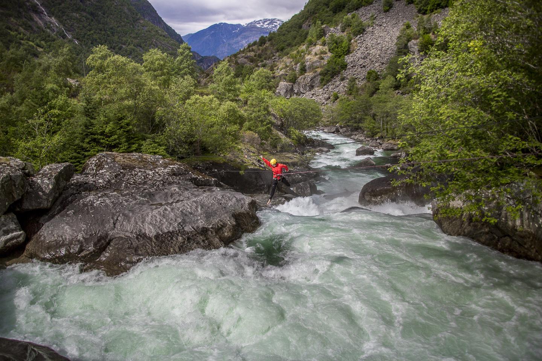White Water Jumping Ovre Eidfjord ©PhotoTravelNomads.com