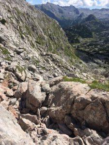 Abstieg ins Steinerne Meer vom Hundstodgatterl