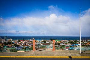 Aussichtspunkt in Punta Arenas