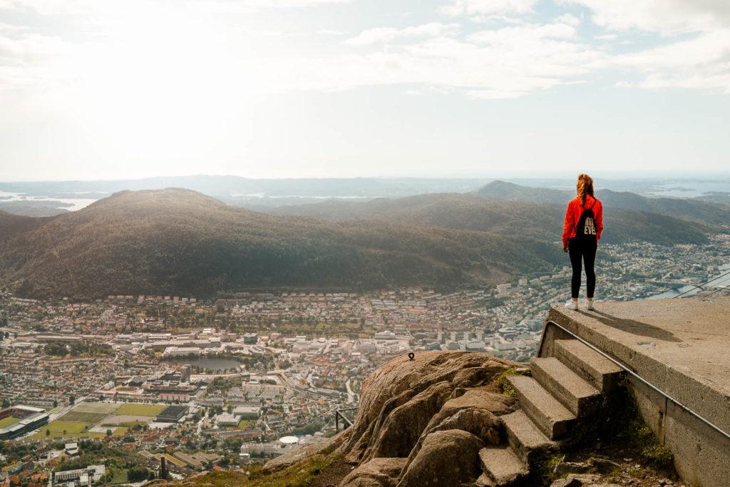 Norwegen Reiseroute: unser Ende in Bergen