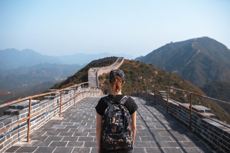 Ganz allein - Chinesische Mauer Badaling