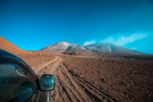 Fahrtweg zum Vulkan Lascar in Chile ©PhotoTravelNomads.com