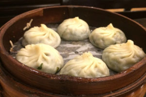Dumplings im Nanxiang Mantou Dian Restaurant