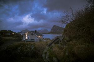 Unsere Hütte in den Lofoten