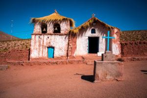 Dorfkirche im Machuca Ancient Village