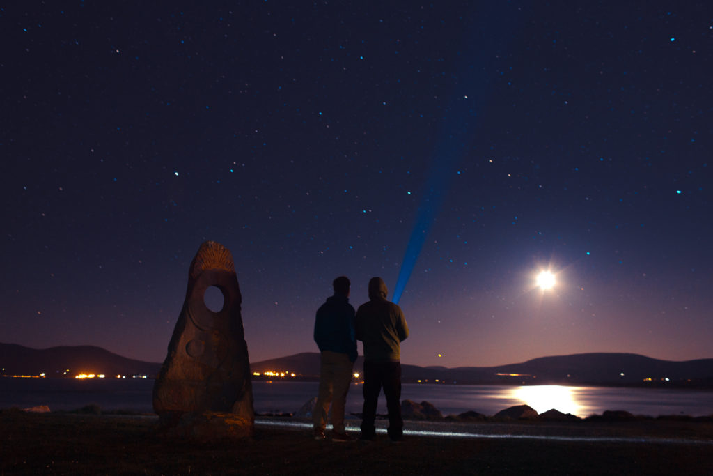 Nachthimmel von Waterville
