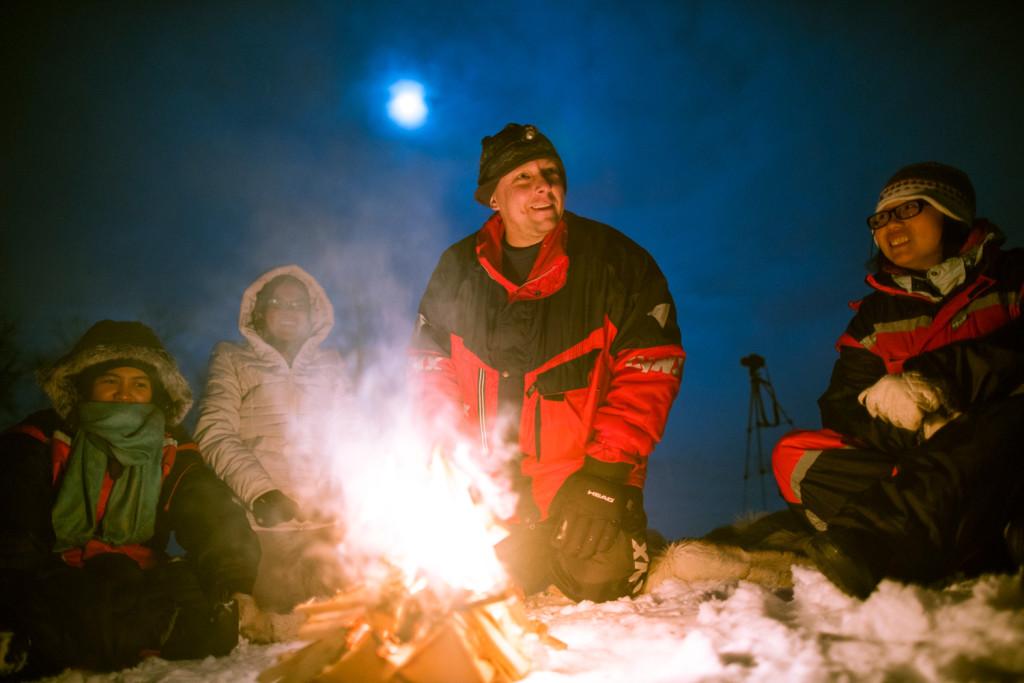 Petern - Northern Lights Guide in Tromsø © PhotoTravelNomads.com