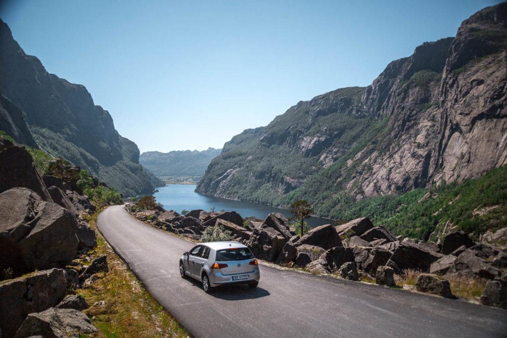 Norwegen Rundreise mit dem Auto: unsere Reiseroute