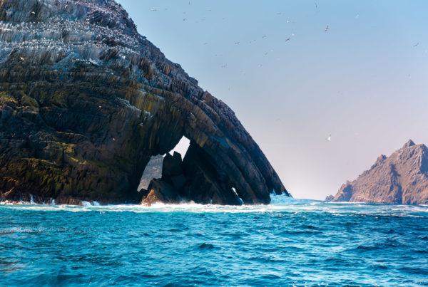 Skellig Islands gehört zu Irlands Sehenswürdigkeiten TOP10 - Skellig Michael