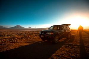 Sonnenaufgang bei der Vulkan Lascar Tour © PhotoTravelNomads.com