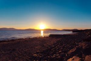 Sonnenuntergang Waterville