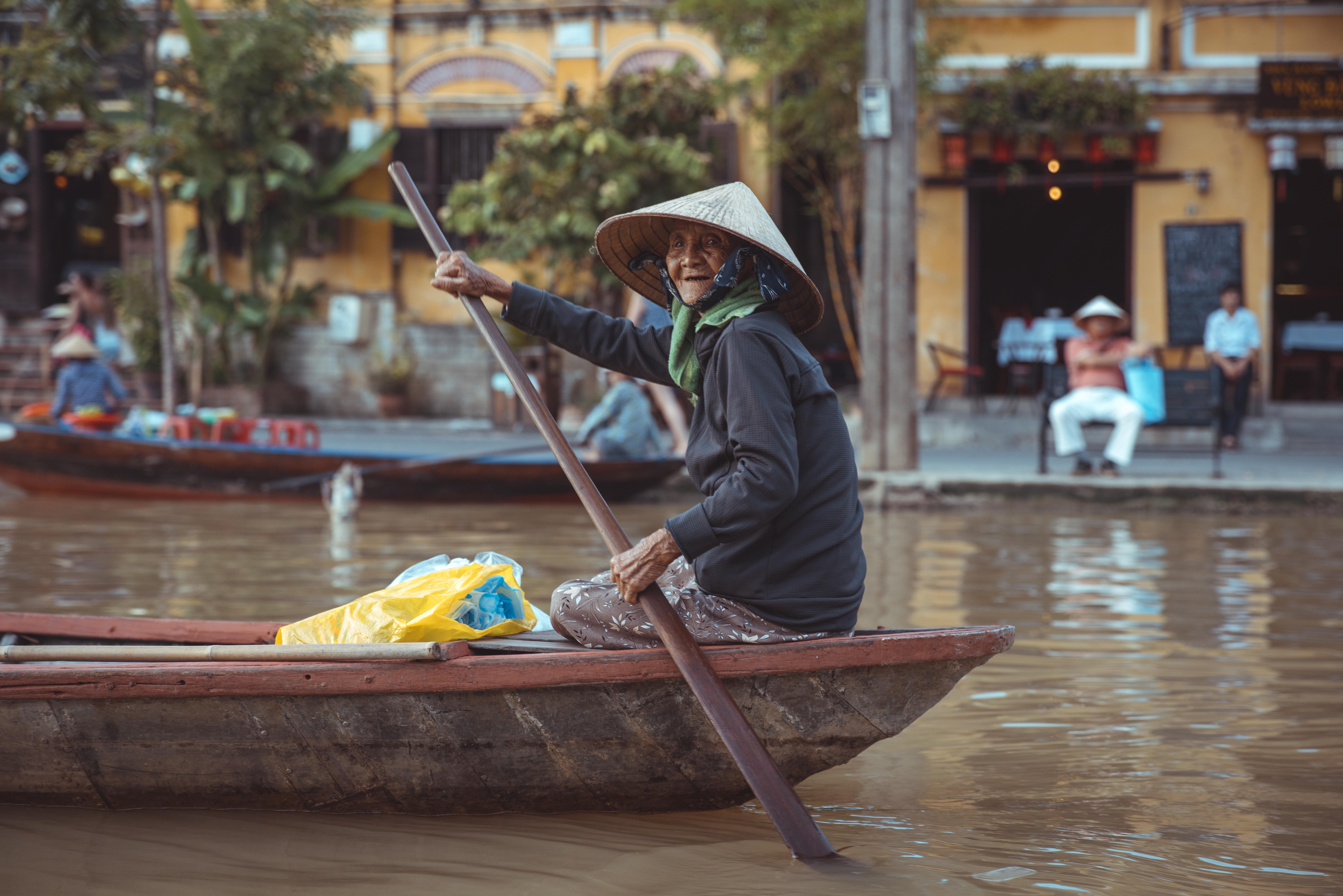 Hoi An - Thu Bon River Floßfahrt