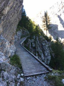 Brücke am Trischübelpass