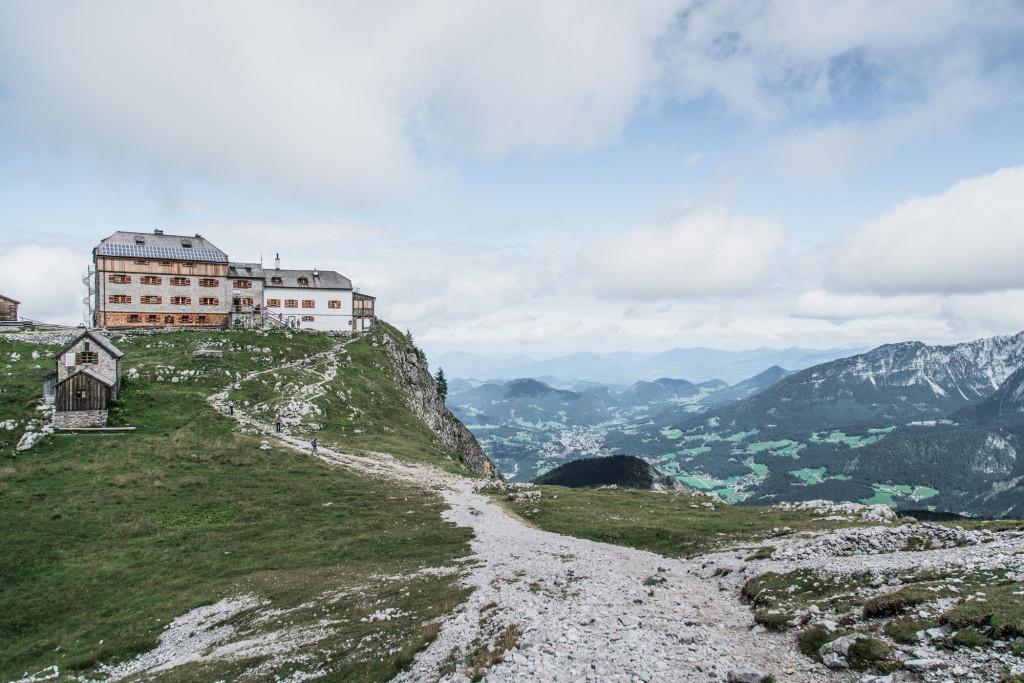 Erste Übernachtung unserer Watzmann-Umrundung: Das Watzmannhaus